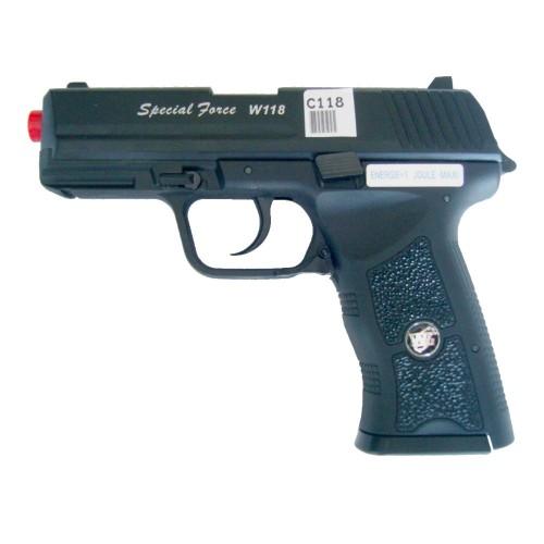WIN GUN CO2 BLOWBACK PISTOL SPECIAL FORCE W118 (C118)
