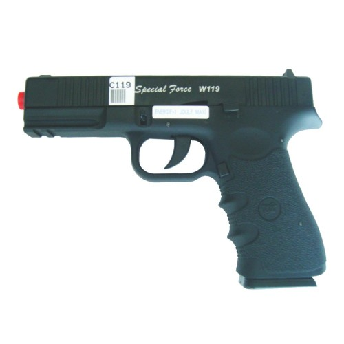 WIN GUN PISTOLA A CO2 SCARRELLANTE SPECIAL FORCE W119 (C119)