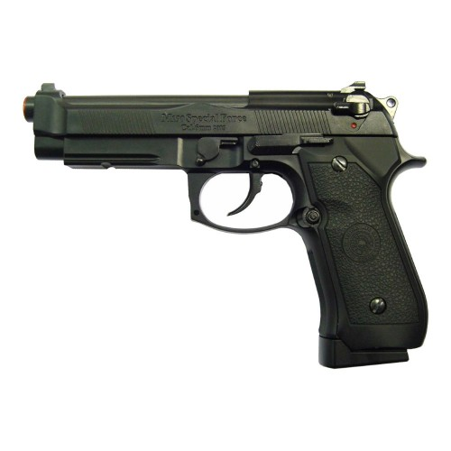 HFC CO2 BLOWBACK PISTOL HALF METAL BLACK (CO 190B)