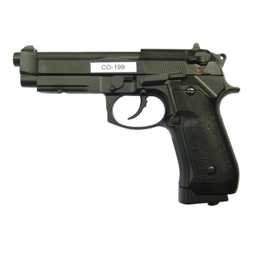 HFC CO2 BLOWBACK PISTOL FULL METAL BLACK (CO 199B)