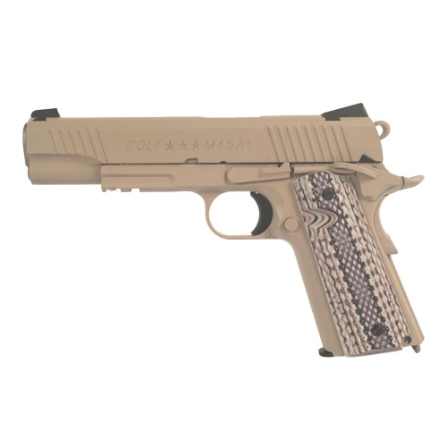 COLT 1911 RAIL GUN M45A1 CO2 PISTOL (180521)