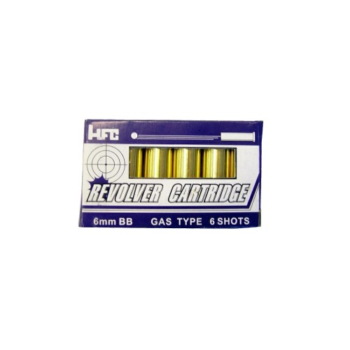 HFC 6 CARTRIDGES SET FOR REVOLVERS (C2)