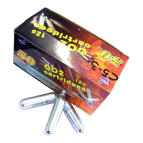 WIN GUN CO2 12G CARTRIDGES 50 PIECES (C50)