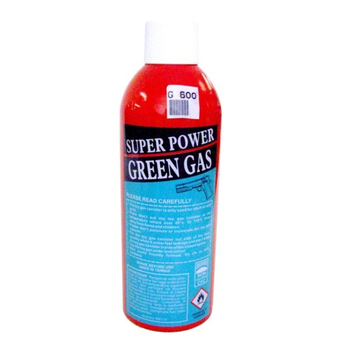 SUPER GREEN GAS 600ML (G 600)