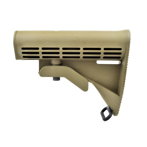 D BOYS RETRACTABLE STOCK FOR M4 TAN (M72T)