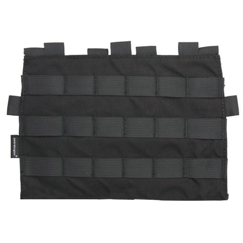 EMERSONGEAR TACTICAL MOLLE PANEL FOR AVS AND JPC2.0 BLACK (EM9288-BK)