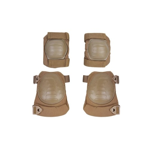 EMERSONGEAR KNEE PADS AND ELBOW PROTECTIONS SET COYOTE BROWN (EM7065B)