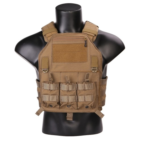 EMERSONGEAR TACTICAL VEST 420 PLATE CARRIER COYOTE BROWN (EM7362CB)