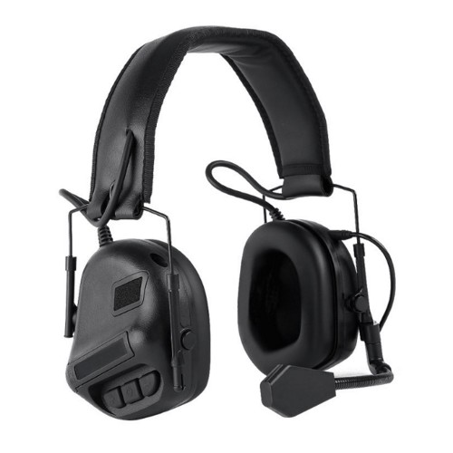 WOSPORT COMMUNICATION HEADSET BLACK (WO-HD08B)