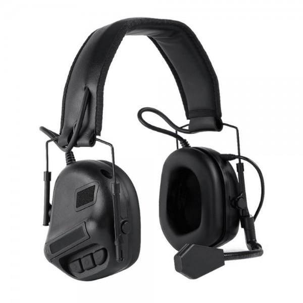 WOSPORT COMMUNICATION HEADSET BLACK (WO-HD08B)