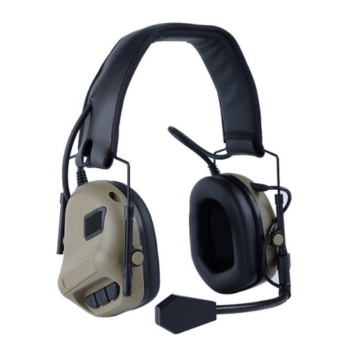 WOSPORT COMMUNICATION HEADSET TAN (WO-HD08T)