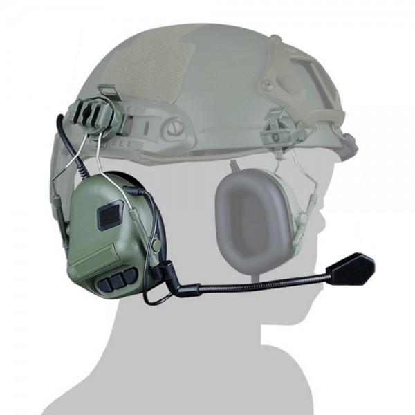 WOSPORT COMMUNICATION HEADSET HELMET VERSION OLIVE DRAB (WO-HD10V)