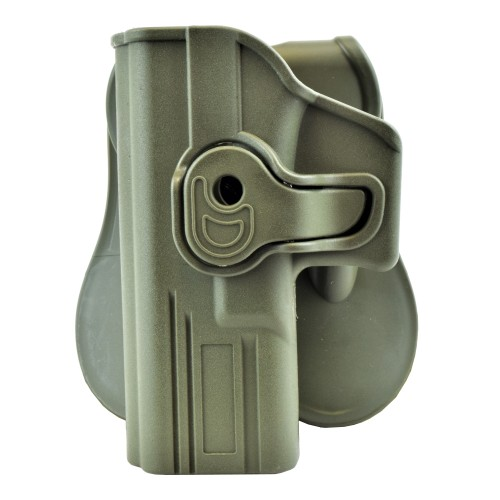WOSPORT QUICK PULL HOLSTER FOR LEFT-HANDED GLOCK SERIES OLIVE DRAB (WO-GB42LV)