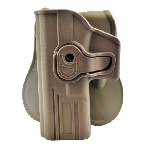 WOSPORT QUICK PULL HOLSTER FOR LEFT-HANDED GLOCK SERIES TAN (WO-GB42LT)