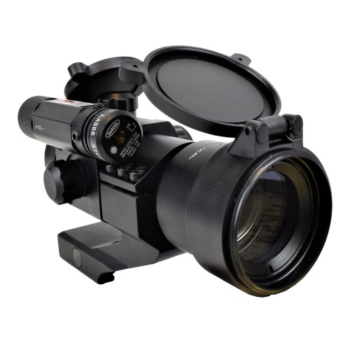 JS-TACTICAL RED DOT LENTE 38mm CON LASER ROSSO (JS-HD30D6)