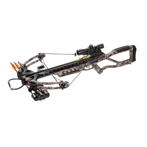 MAN KUNG COMPOUND CROSSBOW FIGHTER 185 LBS CAMO (MK-XB86DC)