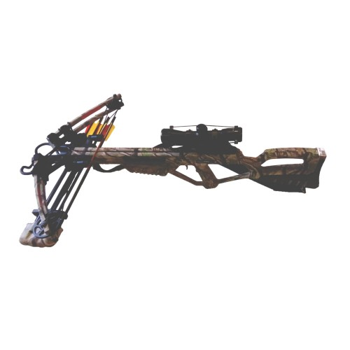 MAN KUNG COMPOUND CROSSBOW 185 LBS GOD CAMO (MK-XB53GC)