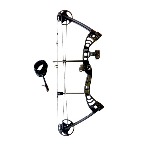 MAN KUNG COMPOUND BOW AURORA 30-55 LBS BLACK (MK-CB50B)