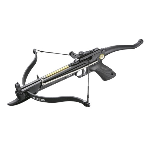 MAN KUNG RECURVE PISTOL CROSSBOW SELF COCKING 80 LBS PLASTIC VERSION (MK-80A4PL)