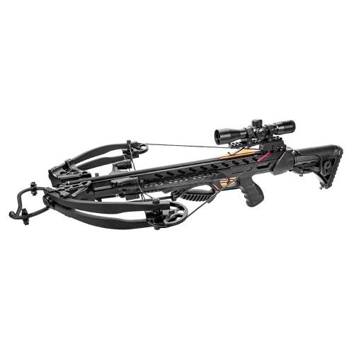 MAN KUNG COMPOUND CROSSBOW 175 LBS BLACK (MK-XB56BK)