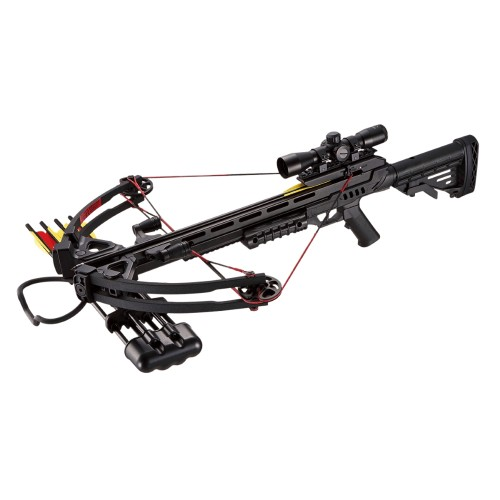 MAN KUNG COMPOUND CROSSBOW 185 LBS BLACK (MK-XB52BK)