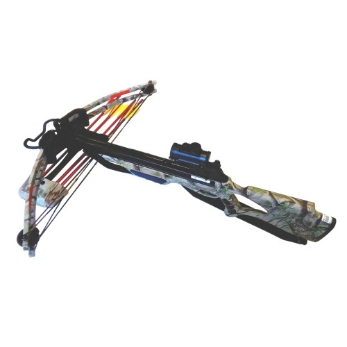 MAN KUNG COMPOUND CROSSBOW 175 LBS GOD CAMO (MK-300GC)