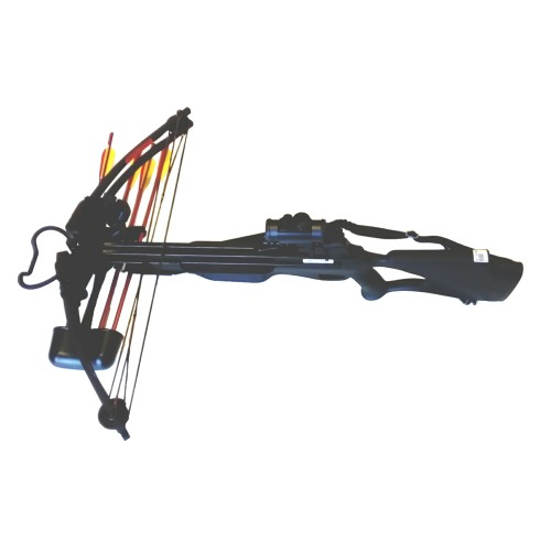 MAN KUNG COMPOUND CROSSBOW 175 LBS BLACK (MK-300B)