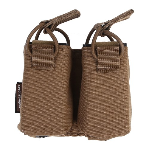 EMERSONGEAR DOUBLE PISTOL MAGAZINE POUCH COYOTE BROWN (EM6374-CB)