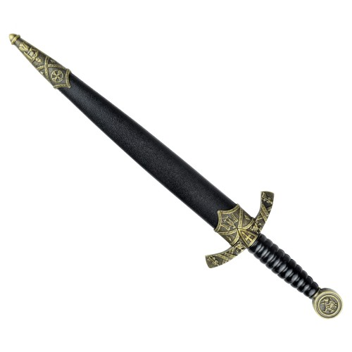 ORNAMENTAL MIDDLE AGES DAGGER (ZS8135)
