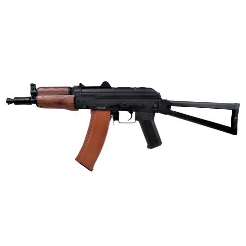 CYMA ELECTRIC RIFLE AKS-74U REAL WOOD (CM035)