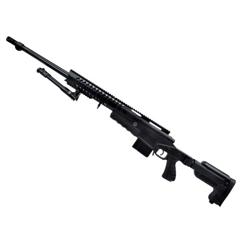 WELL SNIPER BOLT ACTION RIFLE BLACK (MB4418B)
