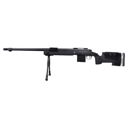 WELL SNIPER BOLT ACTION RIFLE BLACK (MB4417B)