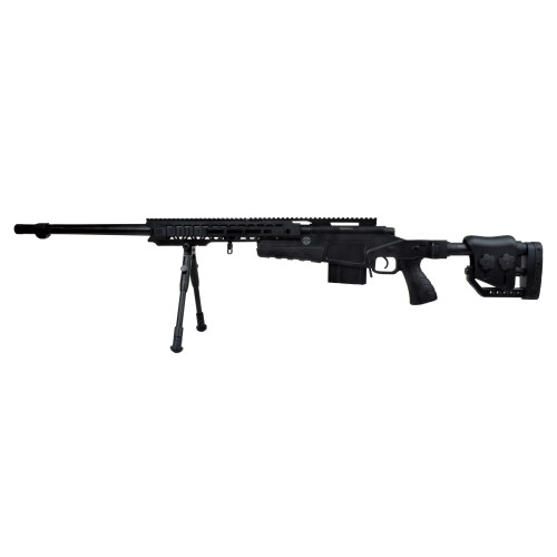 WELL SNIPER BOLT ACTION RIFLE BLACK (MB4419B)