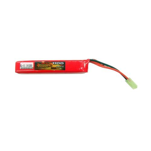 BILLOWY POWER LI-PO BATTERY 11.1V X 1300MAH 20C (BL-11.1X1300)