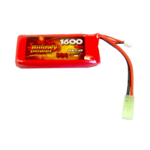 BILLOWY POWER BATTERIA LI-PO 7.4V X 1600MAH 30C (BL-7.4X1600)