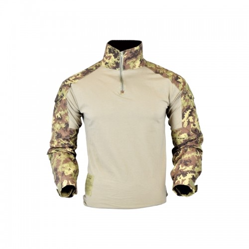 JS-TACTICAL COMBAT SHIRT JS-WARRIOR ITALIAN CAMO SMALL SIZE (JSWAR-MG-TC-L)