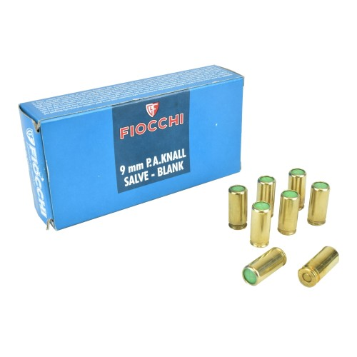 FIOCCHI CARTUCCE A SALVE CALIBRO 9mm (FI9)