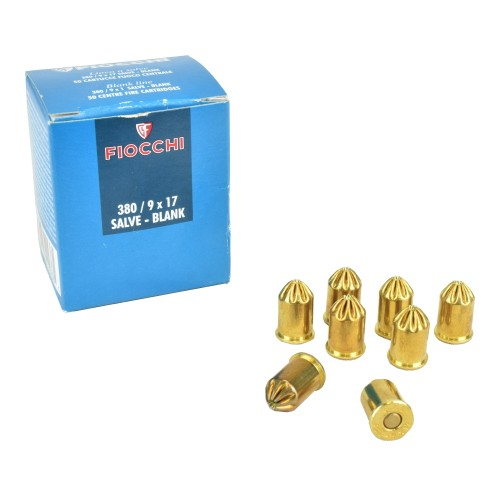 FIOCCHI BLANK CARTRIDGES CALIBER 380 (FI380)