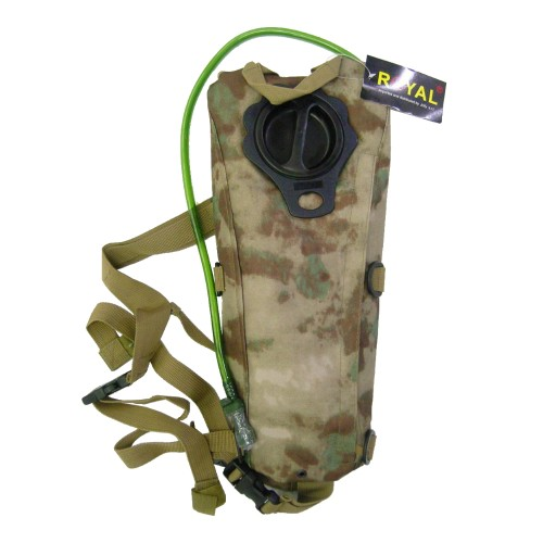 ROYAL BACKPACK WITH 2,5 LITERS HYDRATATION BAG A-TACS GREEN (RP-6407AV)