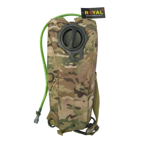 ROYAL BACKPACK WITH 2,5 LITERS HYDRATATION BAG MULTICAM (RP-6407MUL)