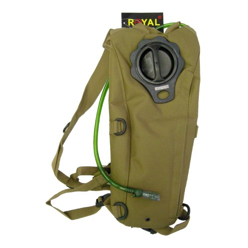 ROYAL BACKPACK WITH 2,5 LITERS HYDRATATION BAG TAN (RP-6407TAN)
