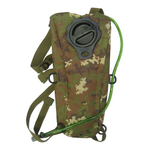 ROYAL BACKPACK WITH 2,5 LITERS HYDRATATION BAG ITALIAN CAMO (RP-6407TC)