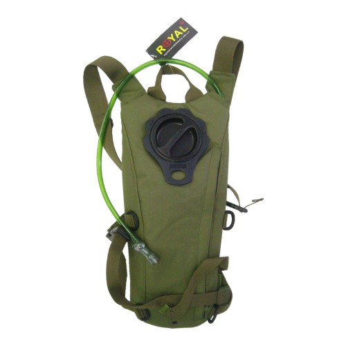 ROYAL BACKPACK WITH 2,5 LITERS HYDRATATION BAG OLIVE DRAB (RP-6407V)