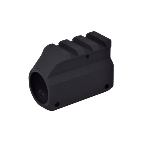 MADBULL GAS BLOCK WITH TOP RAIL BLACK (BU-GBW1R)