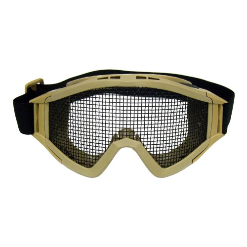 STEEL MESH MASK TAN (6060T)