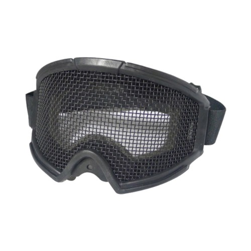 STEEL MESH MASK BLACK (6058B)