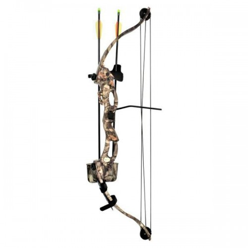 KIDS COMPOUND BOW KIRUPIRA 15-20 LBS CAMO VERSION (CO013TC)