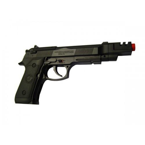 WIN GUN CO2 PISTOL LONG BARREL BLACK (C 302LB)