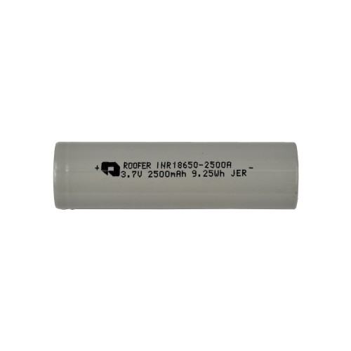 FUEL RC LI-ION RECHARGEABLE BATTERY 3.7V X 2500MAH FOR FLASHLIGHTS (FL-3.7X2400)