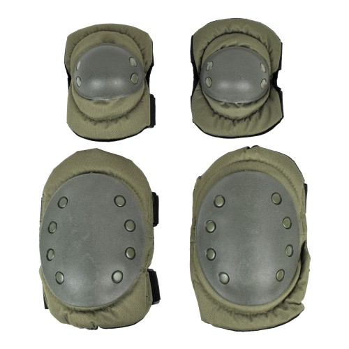 ROYAL KNEE PADS AND ELBOW PADS OLIVE DRAB (G1VERDE)